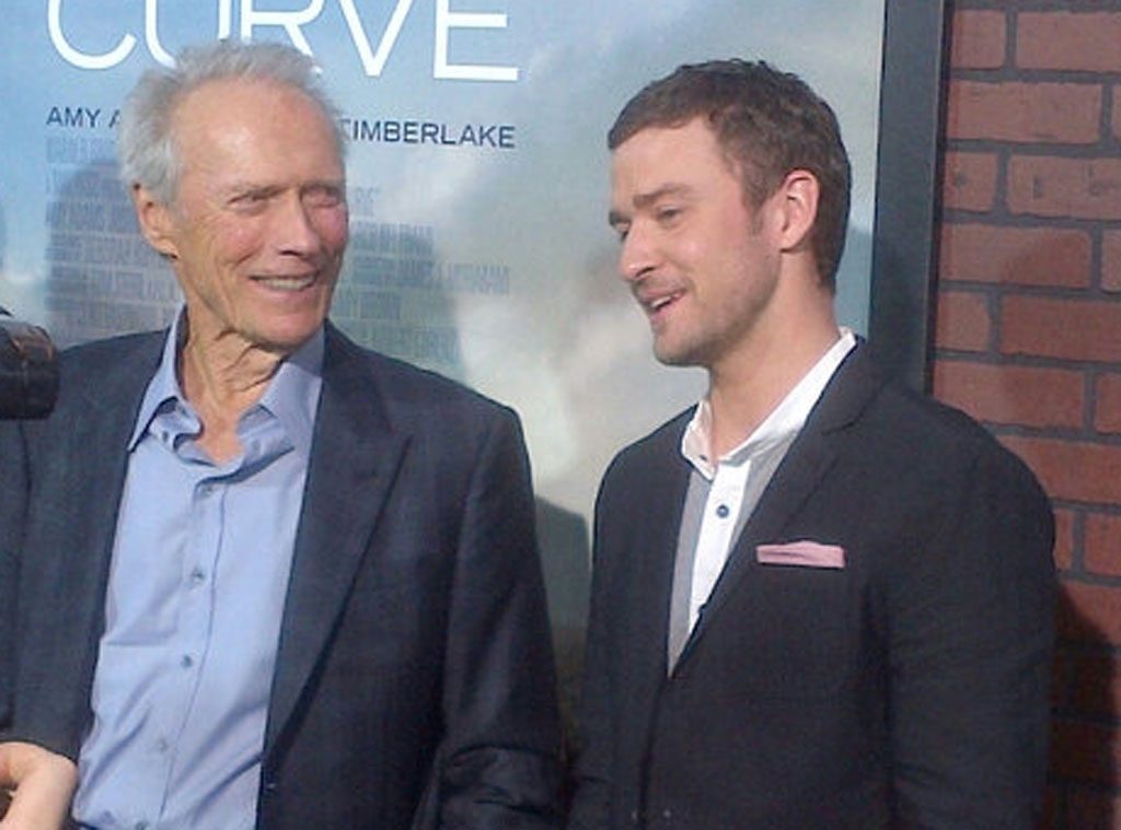Clint Eastwood, Justin Timberlake, Twit Pic