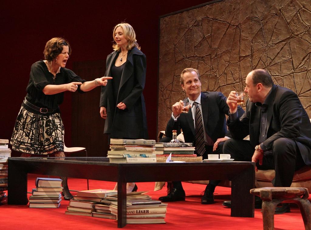 Marcia Gay Harden, Hope Davis, Jeff Daniels, James Gandolfini, God of Carnage, Broadway