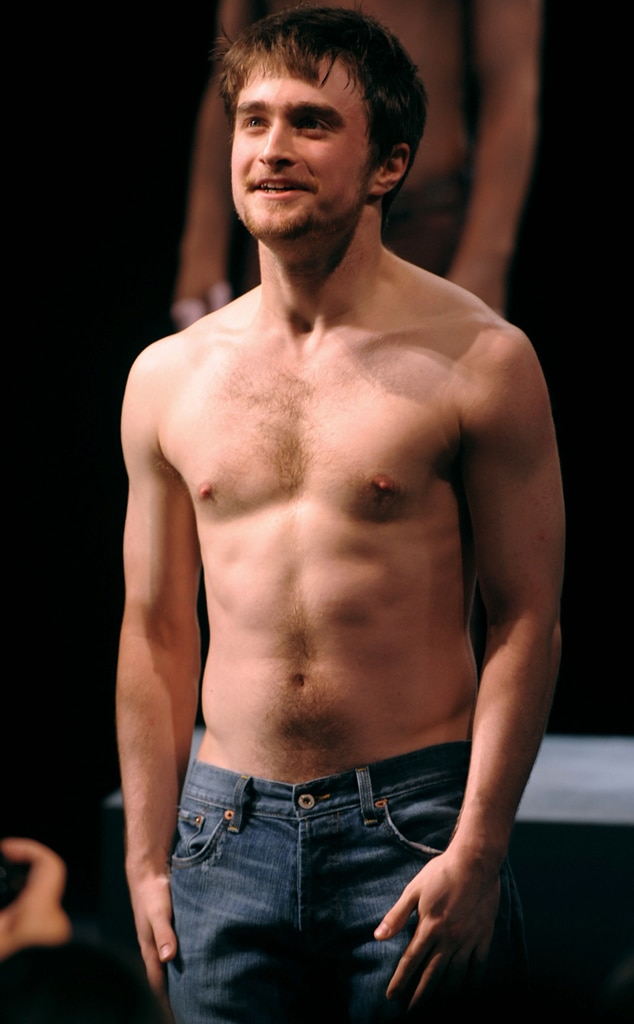 Daniel equus naked photo radcliffe excited too