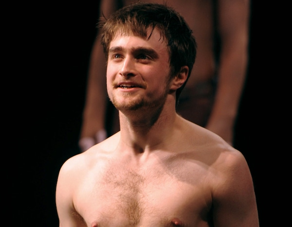 Daniel Radcliffe From Naked Stars On Broadway  E News-3420