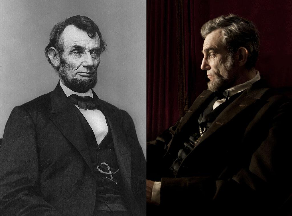 Abraham Lincoln,  Daniel Day-Lewis
