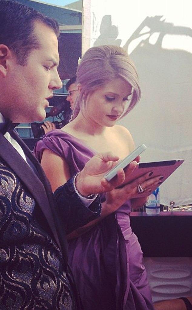 Emmy Twit Pics, Kelly Osbourne
