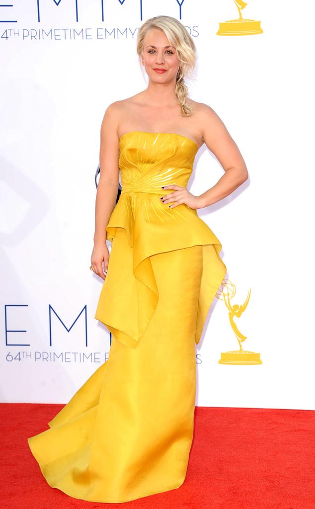 Emmy Awards, Kaley Cuoco