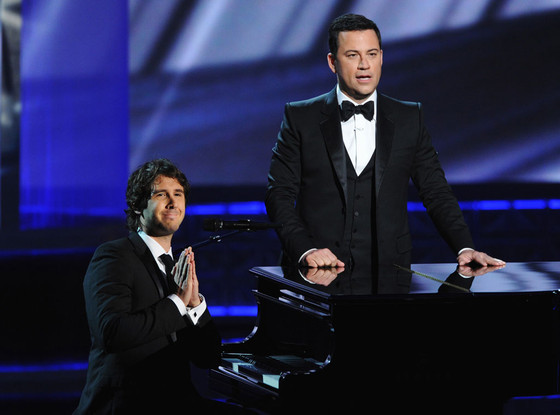 Emmy Awards, JOSH GROBAN, JIMMY KIMMEL