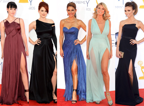 Emmy Awards, Heidi Klum, Jena Malone, Maria Menounos, Giuliana Rancic, Alexandra Breckenridge