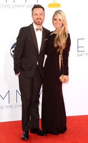Emmy Awards, Aaron Paul, Lauren Parsekian