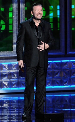 Emmy Awards, RICKY GERVAIS