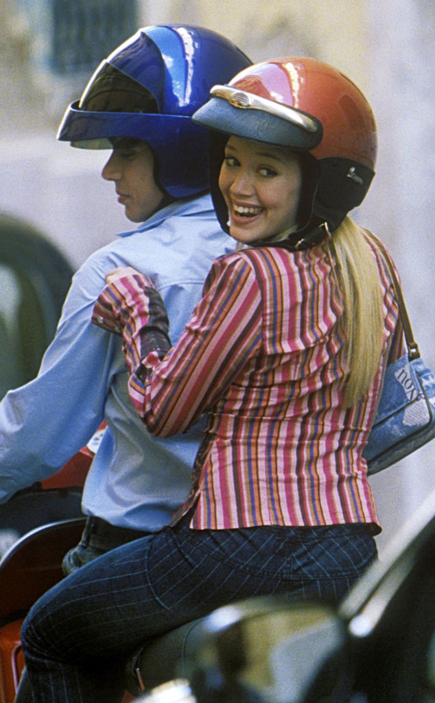 lizzie mcguire the movie from hilary duff through the