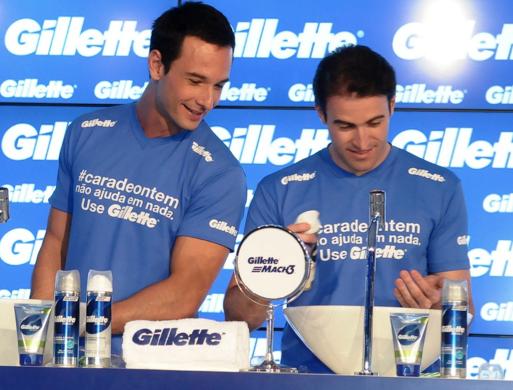 Rodrigo Santoro, Gillette