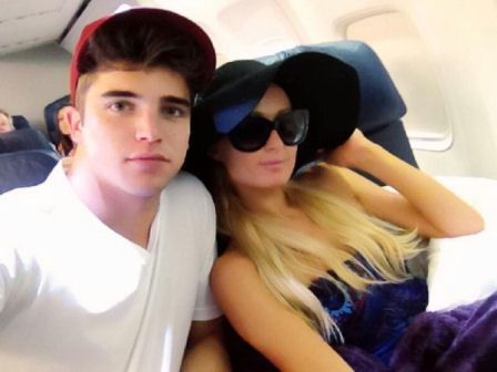 Paris Hilton and River Viiperi twitter