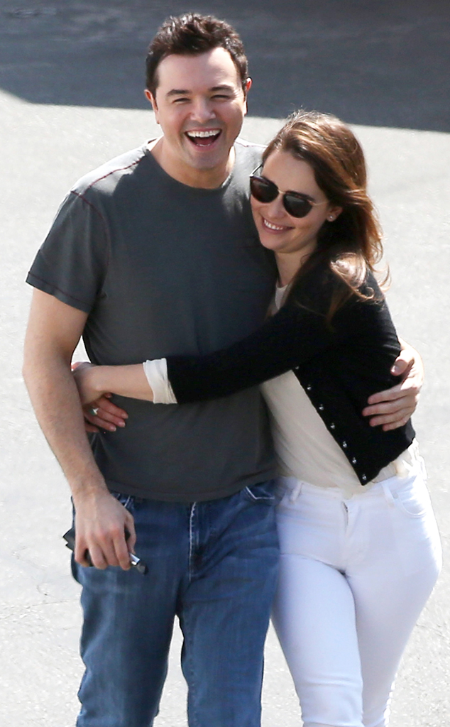 Seth MacFarlane, Emilia Clarke