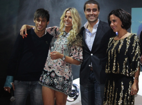 Neymar, Adriane Galisteu, Ricardo Pereira, Guilermina Guinle