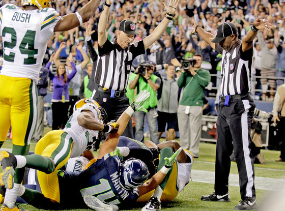 Seattle Seahawks, Green Bay Packers, Referees