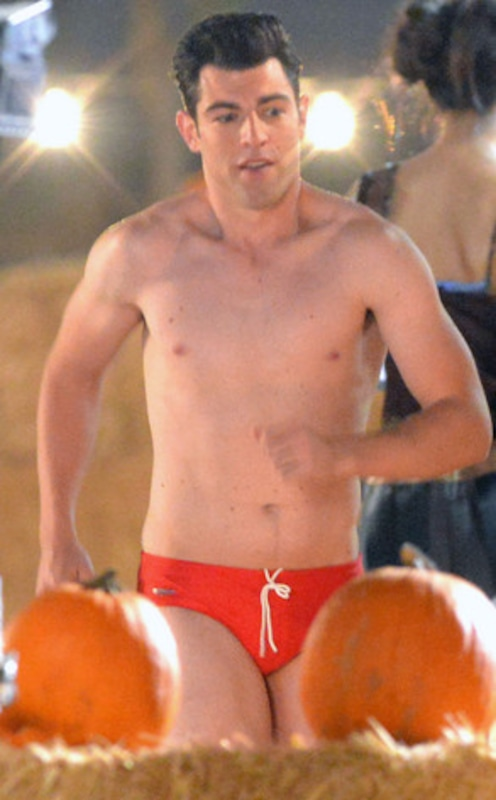 New Girl's Max Greenfield Spotted in Skimpy Swimwear