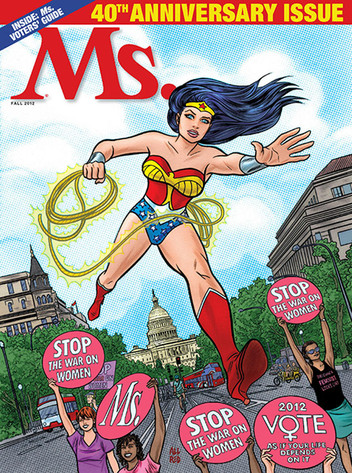 Ms. Magazine, Wonder Woman