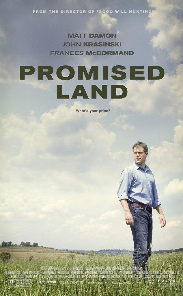 Promised Land, Poster, Matt Damon