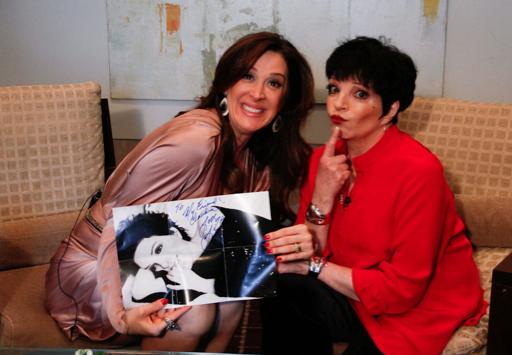 Claudia Raia, Liza Minnelli