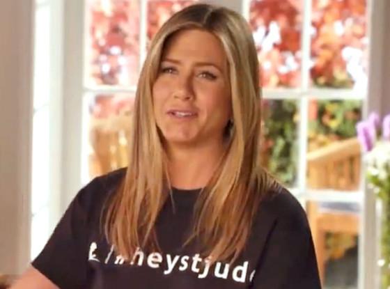 Jennifer Aniston, St. Jude's