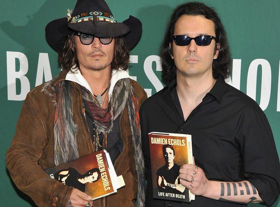 Johnny Depp, Damien Echols