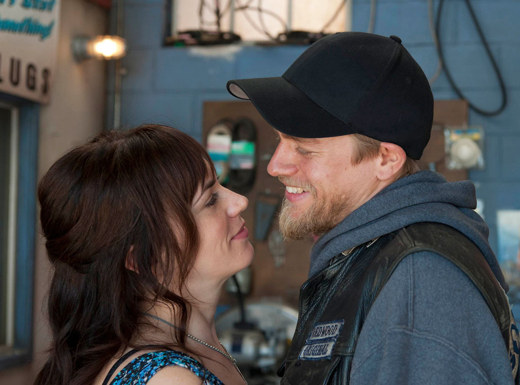 Sons of Anarchy, Maggie Siff and Charlie Hunnam
