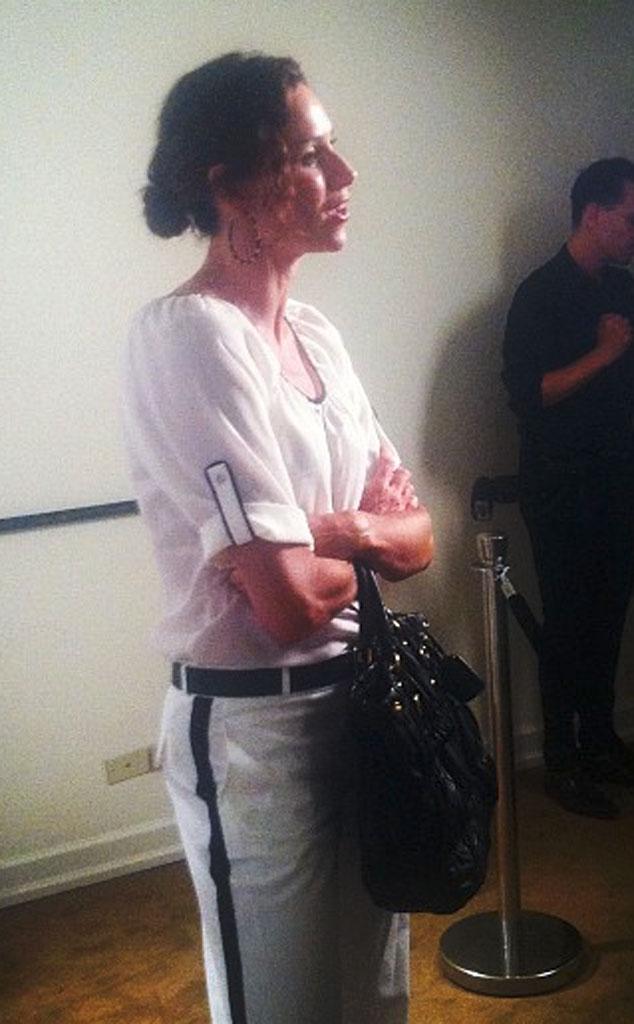 Minnie Driver, Twit Pic