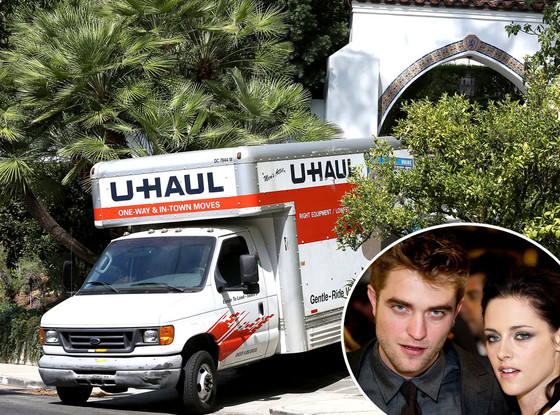 U-Haul, Robert Pattinson, Kristen Stewart