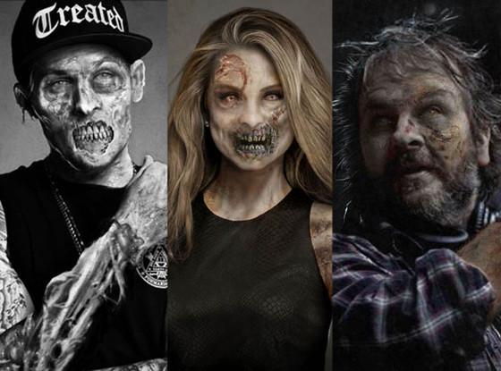 Joel Madden, Maria Menounos, Peter Jackson, Zombies
