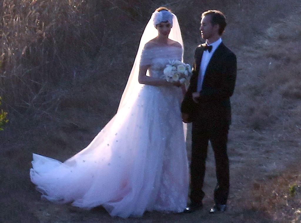 Anne Hathaway, Adam Shulman, Wedding