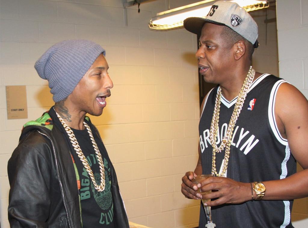 Pharrell, Jay-Z