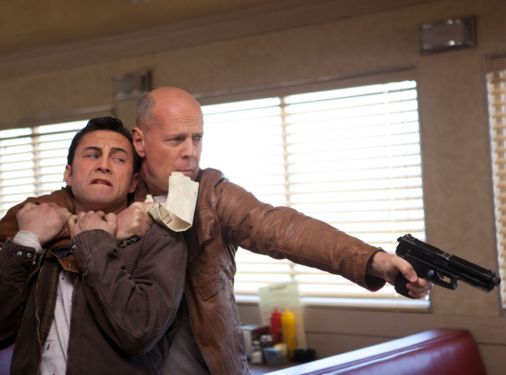 Looper, Joseph Gordon-Levitt, Bruce Willis