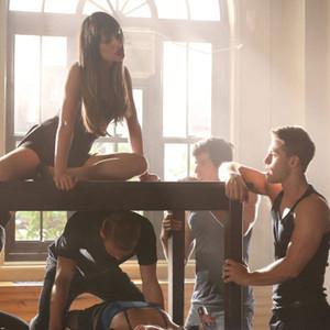 GLEE, Lea Michele, Dean Geyer