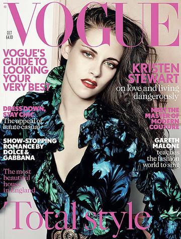 Kristen Stewart, VOGUE UK