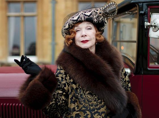Shirley MacLaine, Downton Abbey