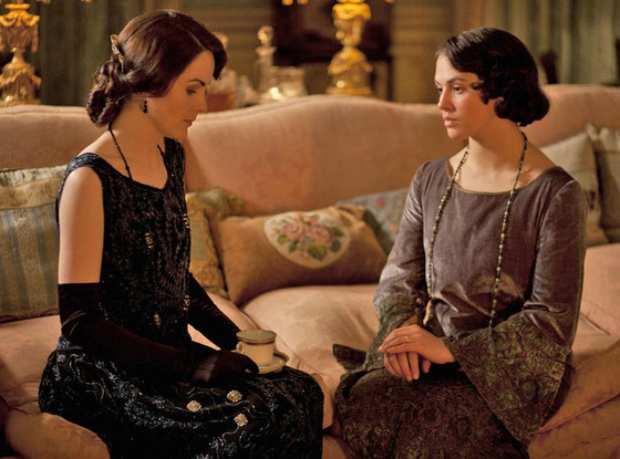 Michelle Dockery, Jessica Brown-Findlay, Downton Abbey