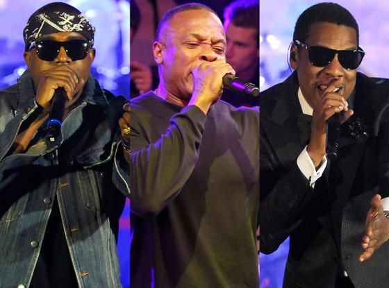 Kanye West, Dr. Dre, Jay-Z