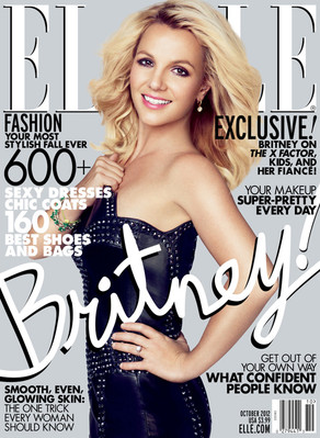 Britney Spears, Elle Magazine Cover