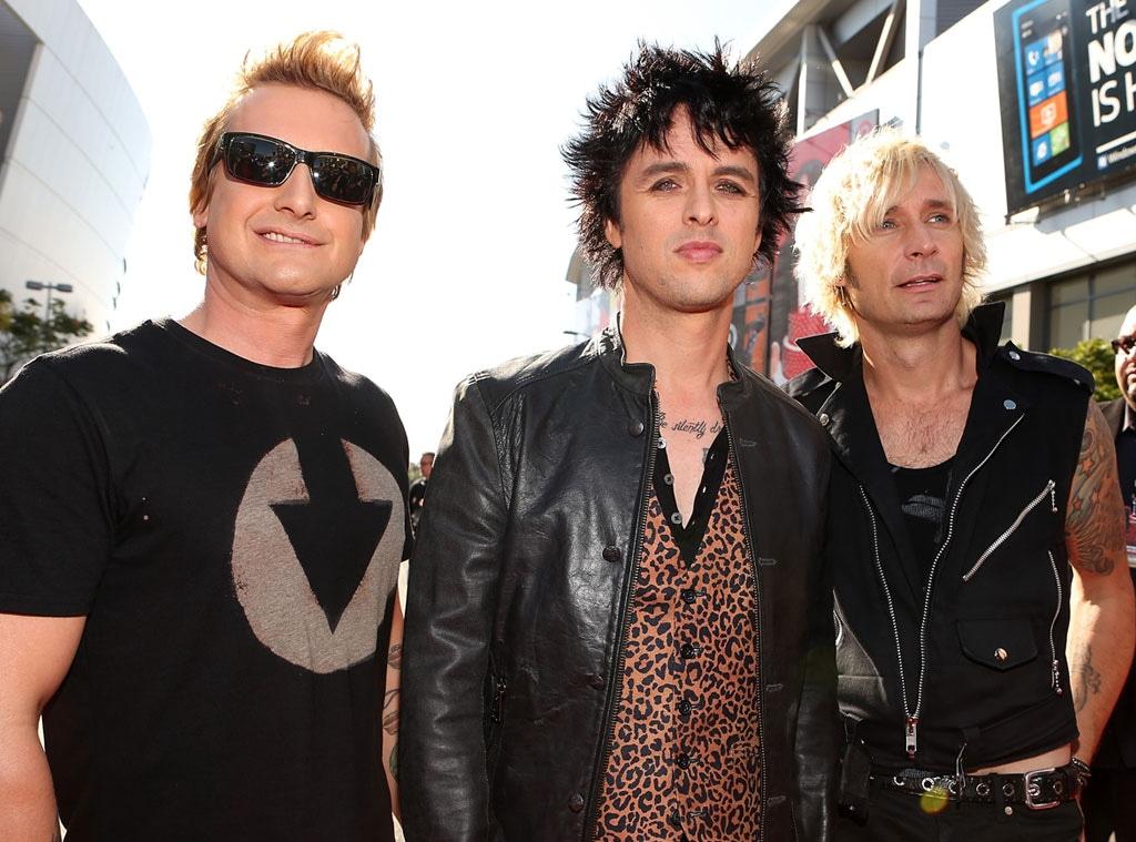 Green Day, Tre Cool, Billie Joe Armstrong, Mike Dirnt