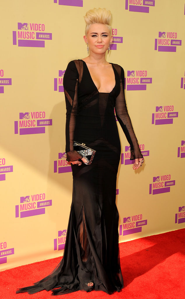 Miley Cyrus, MTV Video Music Awards 2012