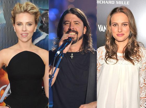 Scarlett Johansson, Foo Fighters, Natalie Portman