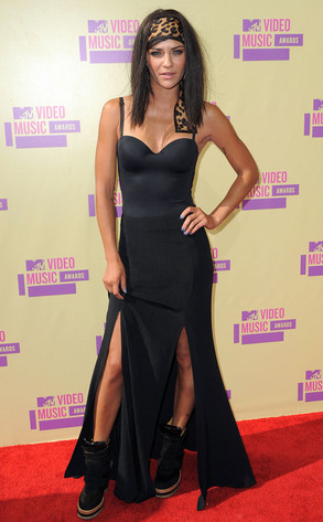 Jessica Szohr, MTV Video Music Awards 2012