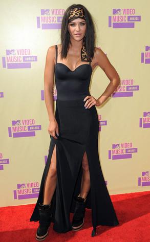 Jessica Szohr, MTV Video Music Awards 2012