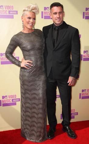 Pink, Carey Hart, MTV Video Music Awards 2012