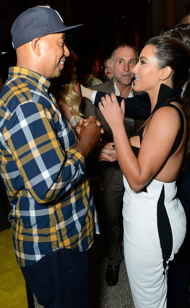 Kim Kardashian, Russell Simmons