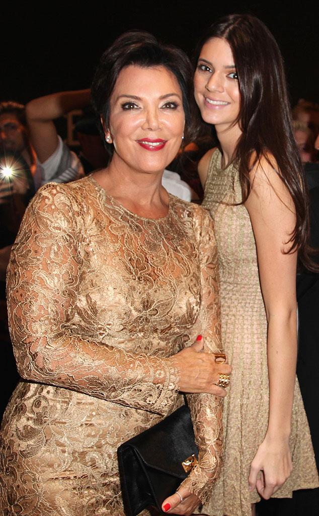 Kris Jenner, Kendall Jenner, New York Fashion Week