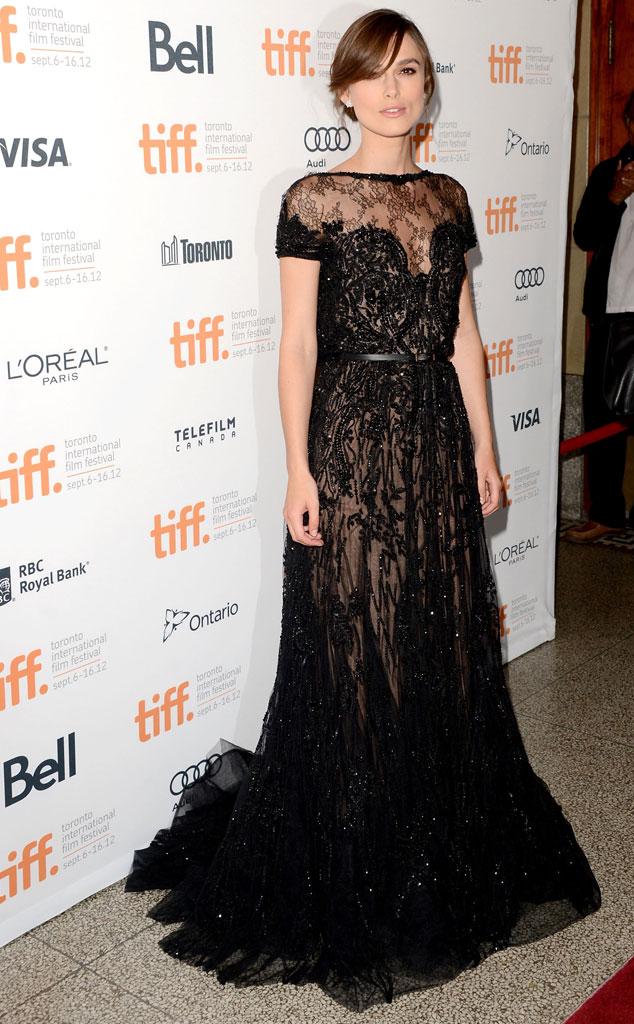 Keira Knightley, 2012 Toronto International Film Festival
