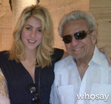 Shakira and father