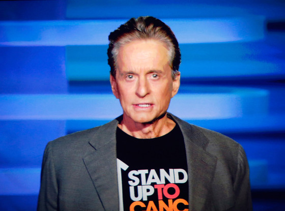 Michael Douglas, Stand Up to Cancer