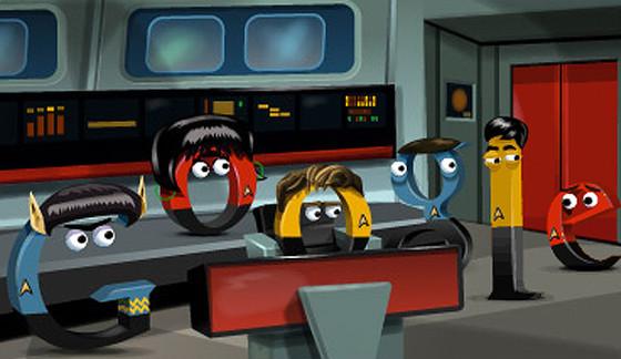 Star Trek Google Doodle