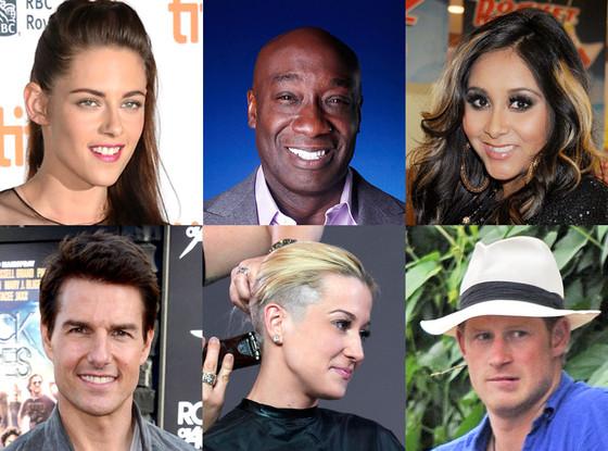 Kristen Stewart, Tom Cruise, Kellie Pickler, Snooki, Michael Clarke Duncan, Prince Harry