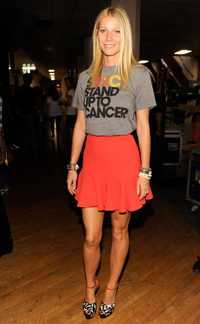 Gwen Paltrow, Stand Up to Cancer